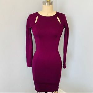 Bar III Cut Out Dress